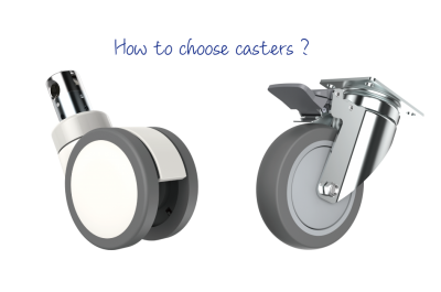 How to distinguish the quality of casters?