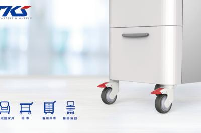 新醫療設備儀器腳輪 - 412 系列