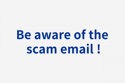 Be aware of the scam email